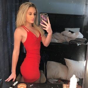 5f824d4a730 PrettyLittleThing Dresses - Tight and sexy red mini dress!